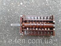 Переключатель ПМ 07001/005 (42.07001.005) семипозиционный для электроплит и духовок       EGO, Германия, фото 1