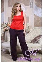 Женские легкие брюки больших размеров (р. 48-90) арт. Лето