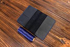 Обложка для паспорта ручной работы VOILE vl-pc1-blu, фото 3
