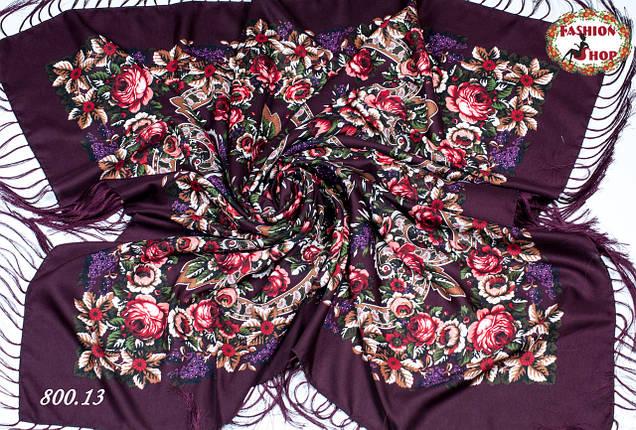 Павлопосадский платок  Непревзойдённая роспись, фото 2