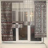 Японские панельки Рельеф серые с черным, 1,5м, фото 1