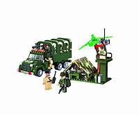 """Конструктор Brick """"Военный грузовик"""" (811)"""