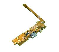 Шлейф (Flat cable) с коннектором зарядки, микрофона для LG Optimus L65 Dual SIM D285