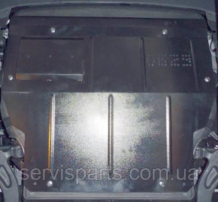 Защита двигателя Volkswagen Transporter T5 и Т6 2003- (с боковыми крыльями)