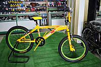 Велосипед Starter BMX желтый