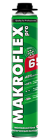 Пена монтажная MAKROFLEX PU PRO (под пистолет) 0,75 ля), 0,75 л