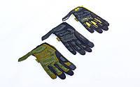 Перчатки тактические с закрытыми пальцами Mechanix 5629 размер M-XL, 3 цвета