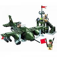 """Конструктор Brick """"Военный самолёт"""" (810)"""