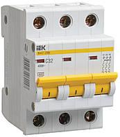 Автоматический выключатель ВА47-29М 3Р 5А 4,5кА характеристика В ИЭК
