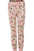 Спортивные брюки с начесом для девочек  оптом, Glo-story,98-128 рр., арт. GRT-4899