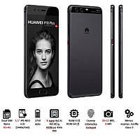 Смартфон Huawei P10 Plus (VKY-L29) DualSim Black, 51091NCR_