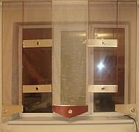 Японские панельки Сеточка терракот , 1,80м, фото 1