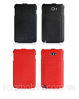 Чехол для Samsung Galaxy Note i9220 N7000 - HOCO Leather Case
