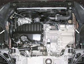 Защита двигателя Volkswagen Touran 2003- (Фольксваген Туран), фото 2