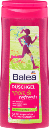 Гель для душа спорт Duschgel Sport & Refresh, 300 ml