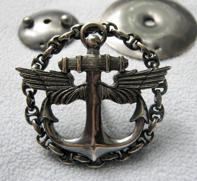 знак офицерского класса морской авиации
