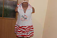 Летнее платье с капюшоном, фото 1