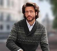 Скидка мужской жаккардовый свитер ангора от Tcm Tchibo наш 50 52