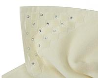 Банный коврик с Кристаллами SWAROVSKI с антибактериальной защитой Кремовый