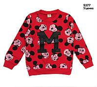 Кофта Mickey Mouse унисекс. 120, 130 см, фото 1