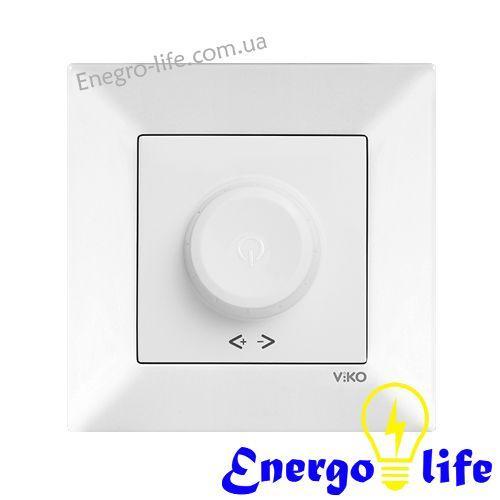 Диммер белый 600W RL VIKO Meridian, 90970020-WH, для регулировки степени освещения в помещениях - Energo Life в Днепропетровской области
