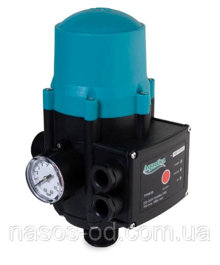 """Контроллер давления электронный прессконтроль Aquatica 1.1кВт Ø1"""" регулировка давления Вкл 1.5-3.0 бар"""
