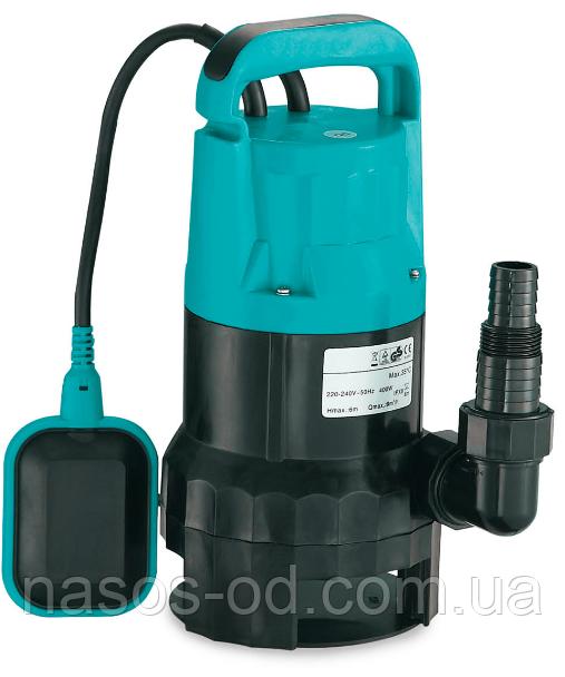 Дренажный насос Leo садовый для колодцев 0.55кВт Hmax6м Qmax200л/мин. ЗагрязнВода