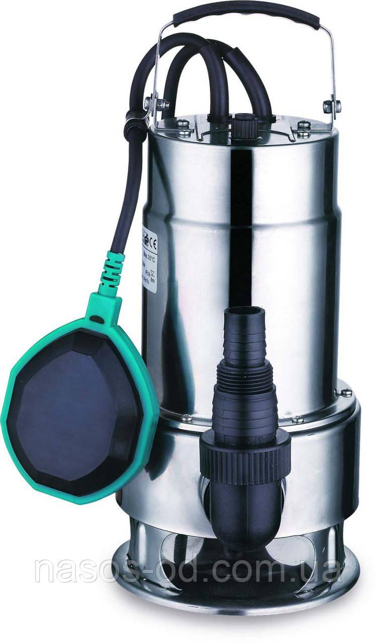 Дренажный насос Leo садовый для колодцев 0.55кВт Hmax6м Qmax167л/мин. ЗагрязнВода (нерж)