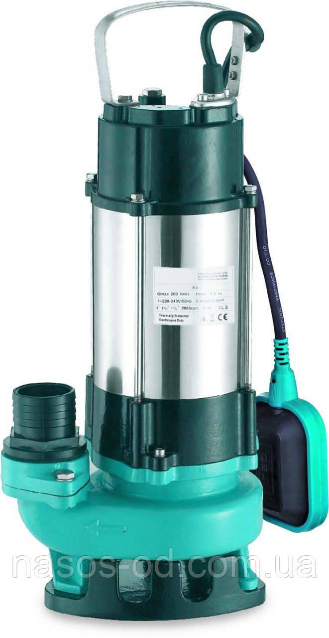 Дренажно-фекальный насос Aquatica для грязной воды 0.45кВт Hmax8.5м Qmax200л/мин