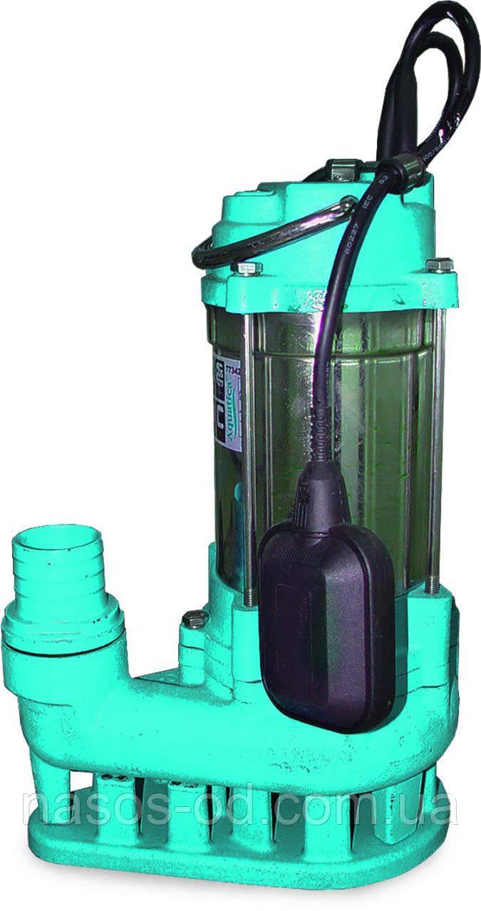Канализационный насос фекальный Aquatica для выгребных ям 0.55кВт Hmax12м Qmax242л/мин (нержавейка)
