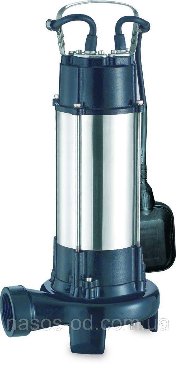 Канализационный насос фекальный Aquatica для выгребных ям 1.8кВт Hmax10м Qmax400л/мин (с ножом)