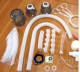 Запасные части и материалы к ультразвуковым ингаляторам Вулкан в асс.