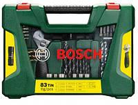 Bosch V-Line 83 Набор сверл TiN и бит