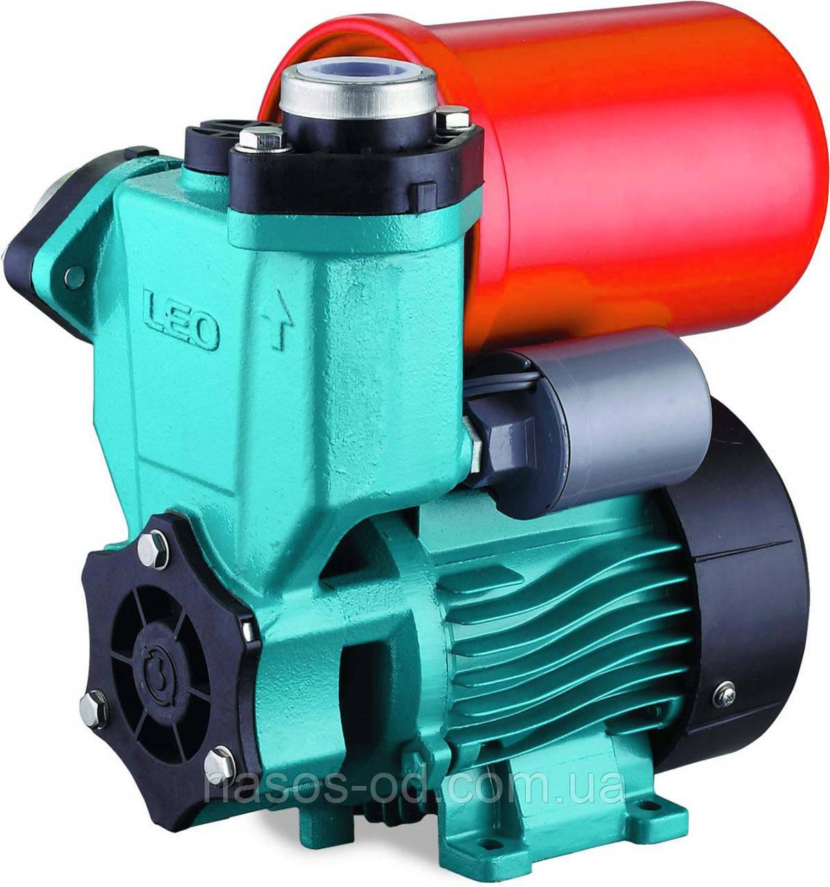 Насосная станция гидрофор Leo для воды 0.55кВт Hmax45м Qmax45л/мин (вихревой насос) 1л (776115)