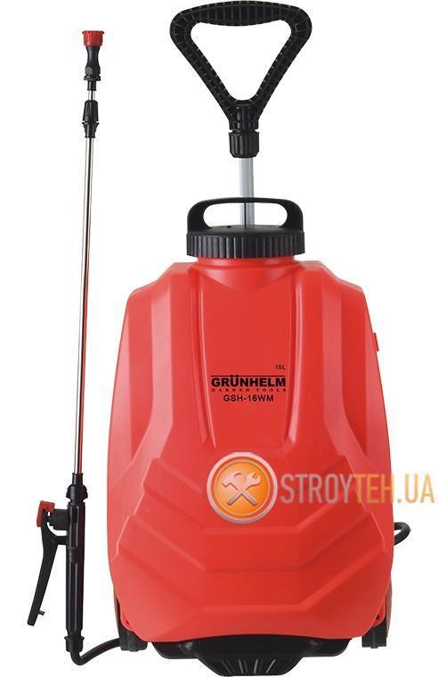 Grunhelm GHS-16WN Опрыскиватель аккумуляторный 16 л - Покупка  в Тернополе