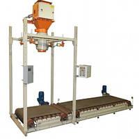Дозатор для сыпучих продуктов в мешки «Биг-Бег» с перегружателем ДВС301-1000-1-П
