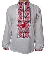"""Чоловіча вишита сорочка """"Норві"""" (Мужская вышитая рубашка """"Норви"""") SN-0018"""