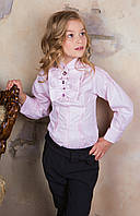 Эксклюзивная школьная блуза