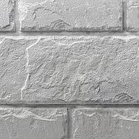 Декоративный камень Колотый блок (белый)