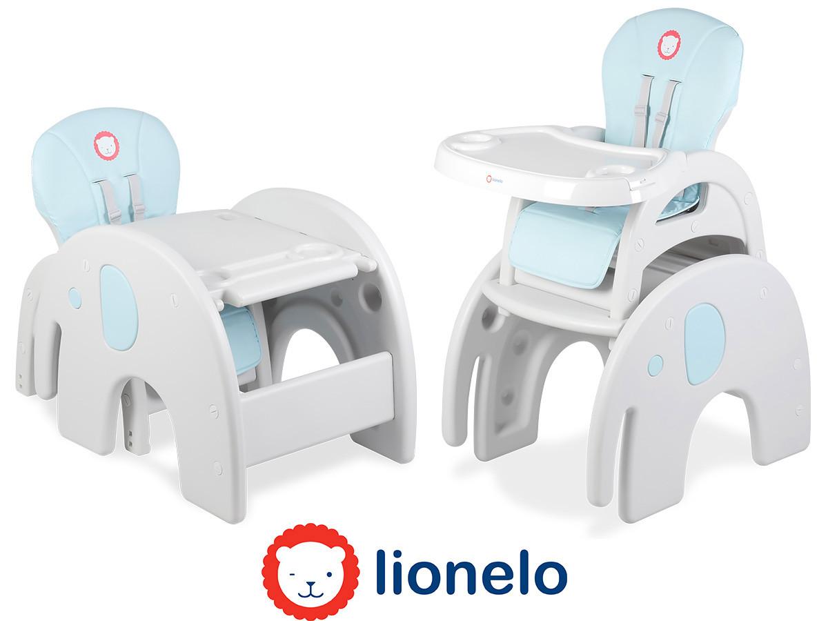Кресло-трансформер Lionelo Eli 5в1 Blue