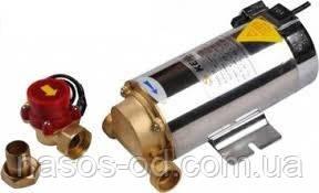 Насос повышения давления Kenle SWG-14 0.1кВт Hmax11м Qmax18л/мин нержавеющий корпус+датчик протока
