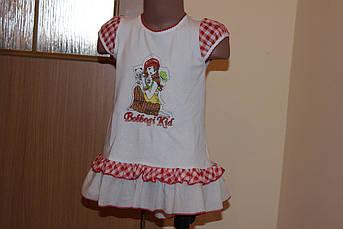 Детское летнее платье Оборка Размер 80 - 120 см