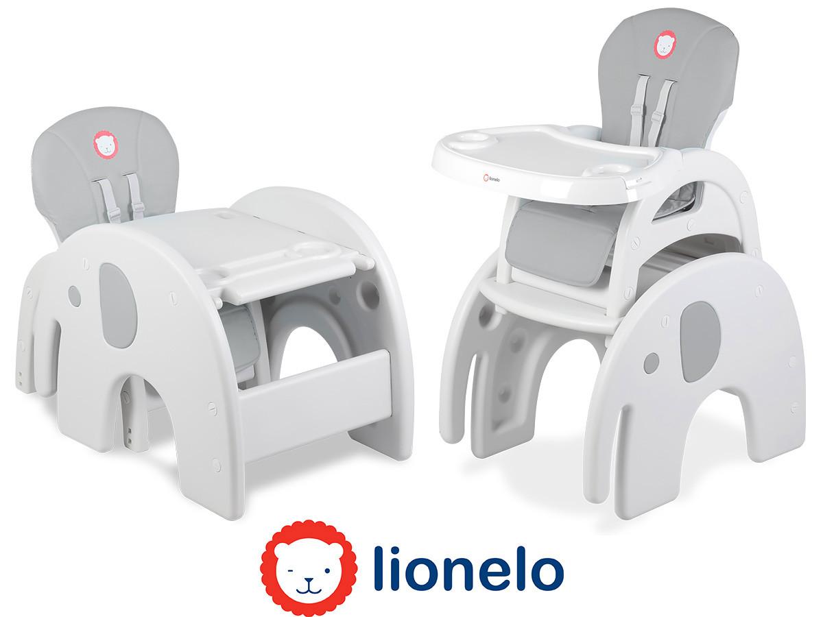 Кресло-трансформер Lionelo Eli 5в1 Grey