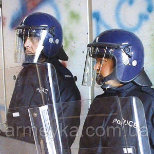 Противоударный шлем с забралом Argus PAS 017 (синий).