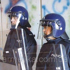 Противоударный защитный шлем с забралом Argus PAS 017 (синий). Police Великобритании, оригинал.