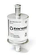 Фильтр газа тонкой очистки Torelli метал ГБО