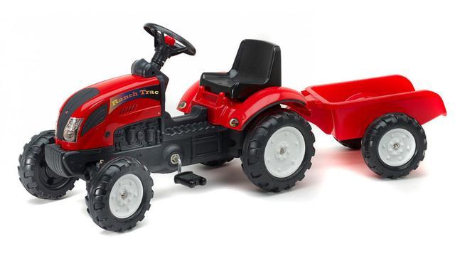 Тракторы педальные и аксессуары