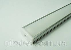 Профиль накладной для светодиодной ленты 18*7*1000 мм