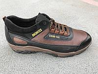 Мужские  кожаные кроссовки Big Boss больших размеров 45. 46, 47, 48, 49, 50