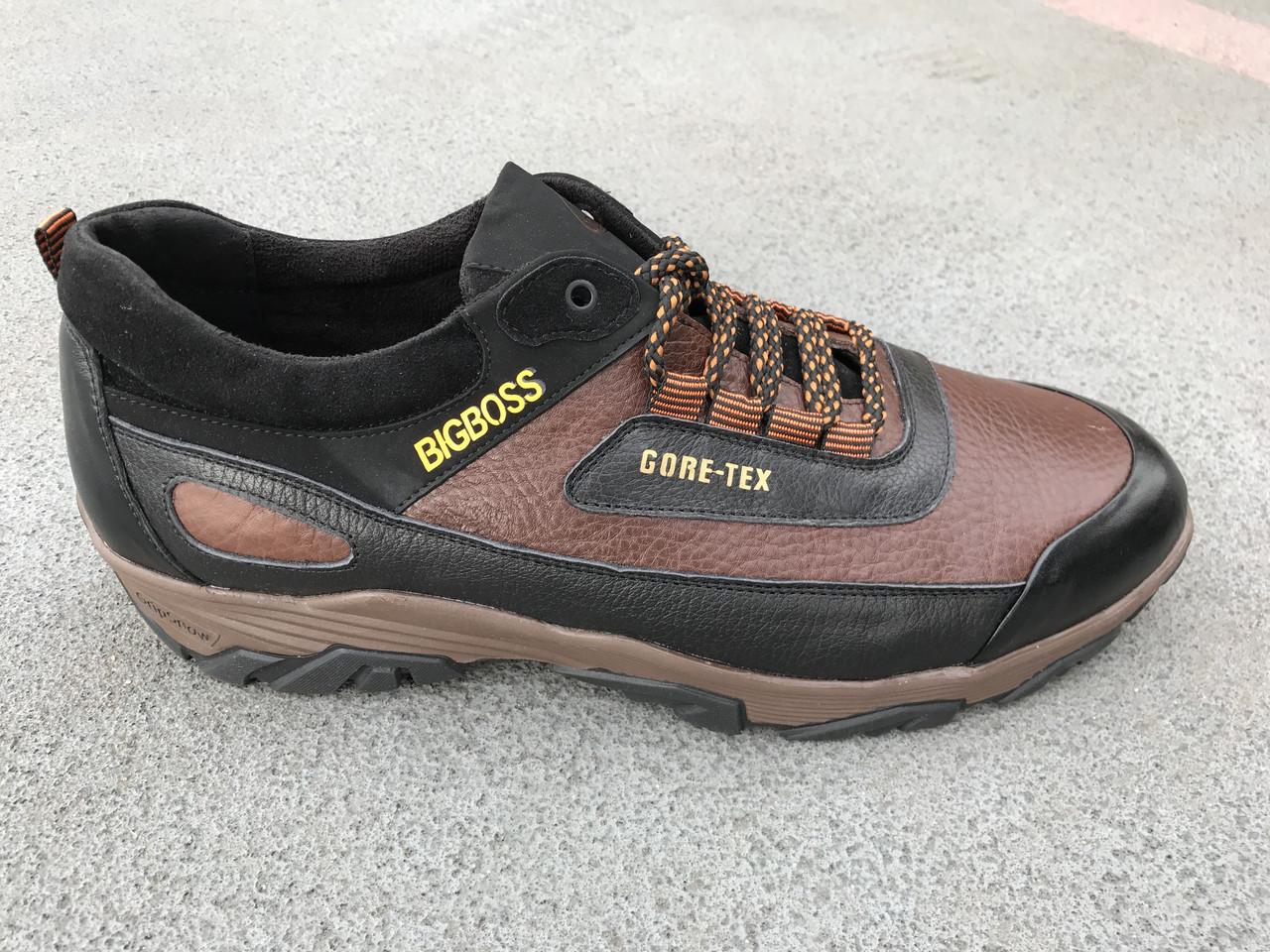 Мужские  кожаные кроссовки Big Boss больших размеров 45. 46, 47, 48, 49, 50  - Первый обувный Харьков в Харькове